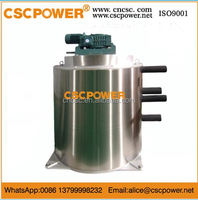 f60 fresh water 6T/day cscpowerCarbon Steel Materia Industrial Flake Ice Machine