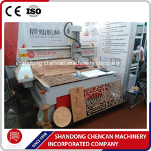 cnc router wood carving machine with air spindle for sale