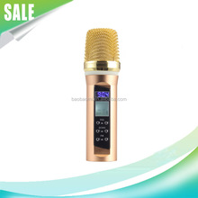 Bluetooth Mic B20-2 Mini Karaoke Microphone With Good Quality Handheld Bluetooth Microphone in car microphone