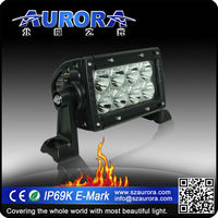 Aurora super bright 4 inch motorcycle led driving lights