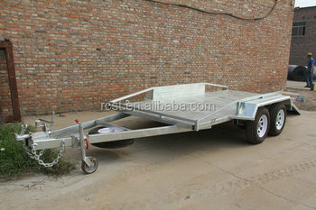 Heavy Duty Galvanized Utility Trailer