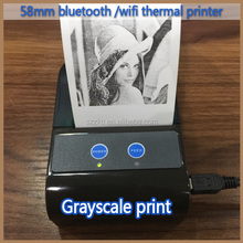 Mini Wireless Mobile thermal Receipt Printer for grayscale image (zkc-5804)