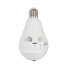 BENYUAN 360 degree panoramic camera wifi light bulb with hidden camera for home security