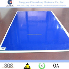 High quality Disposable Blue PE Clean room Floor Antistatic Cleanroom Sticky Mat