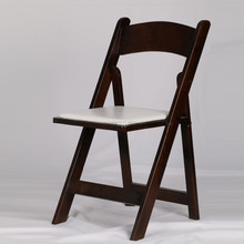 wooden folding banquet chair event party rental chair