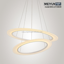 best sale acrylic pendant lamp made in china dark wood floors with light wood furniture