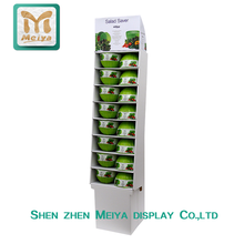 Hot Sale Retail Store Cardboard Display for Fruit and Vegetable Salad from China Factory
