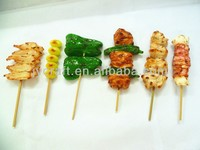 Artificial BBQ barbecue fake plastic food model