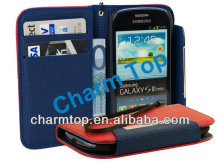 Galaxy S3 Mini Wallet Case with Strap