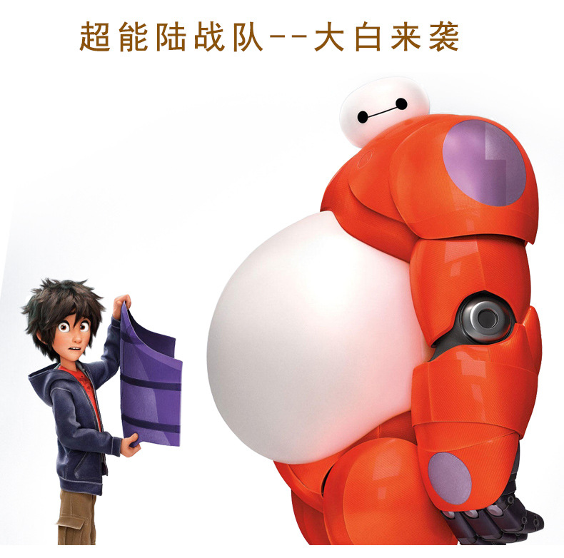 Big Hero 6 Baymax Robot Bobble Head Shaking Head Toy Model Car Decoration 10cm PVC Action Figure Toy