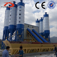 Concrete Batching Machine 100m3/h Ready Mixed Concrete Mixing Plant