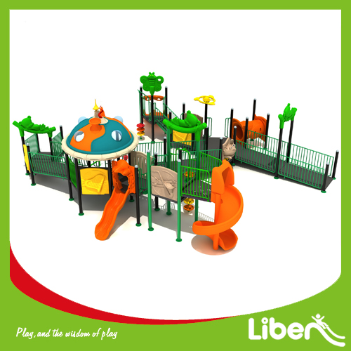 China Hot Sale Safety Used Children Outdoor Commercial Playground