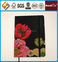 hot design Europe custom pages notebook for pvc cover