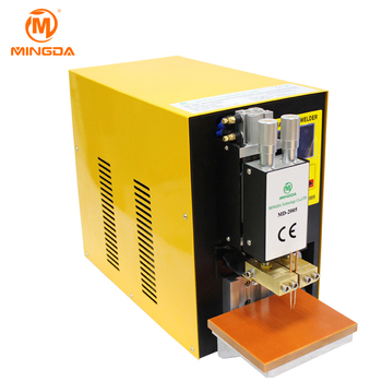 The spot welder Manufacturer MINGDA MD-2005 0.25mm Nickel 18650 spot welder for battery pack
