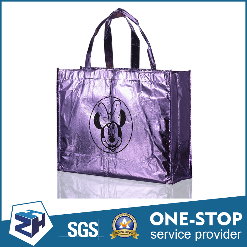 Latest arrival products gravure printing non woven european shopping bags