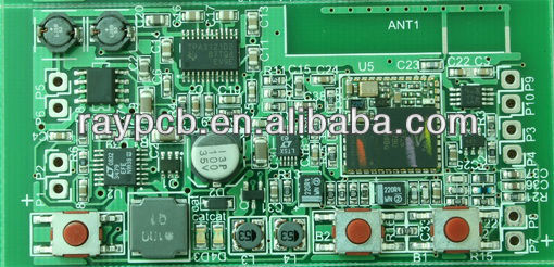 3 layer,buried blind via,professional PCBA manufactures of mid, PCB assemlby service offer,a printed circuit board