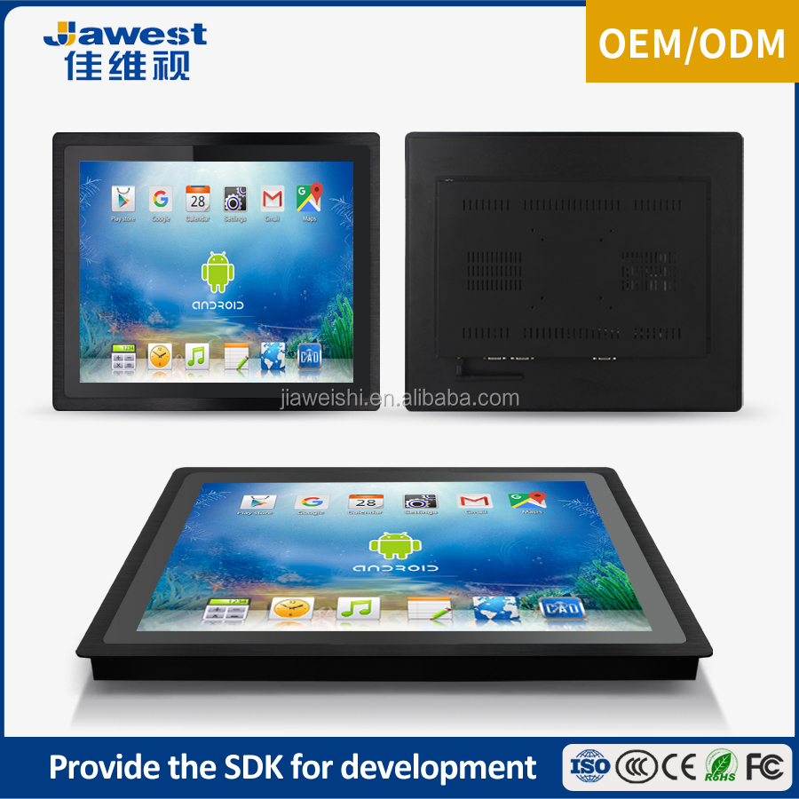 Jawest Industrial computer monitor Tablet PC with 10 point capacitive touch screen
