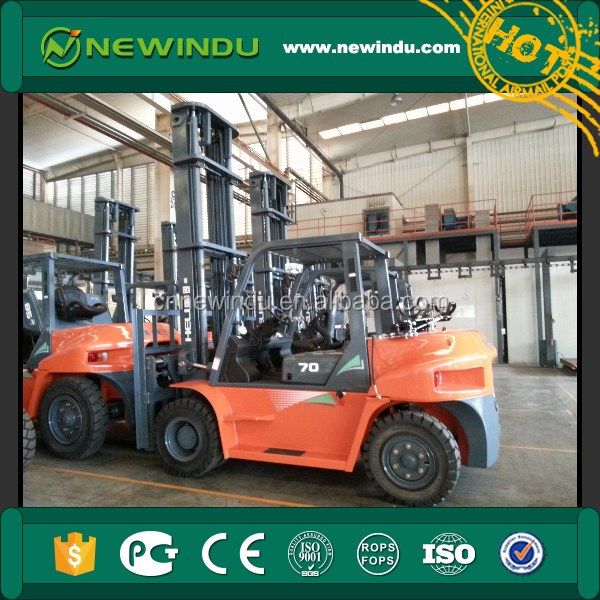 New HELI 8.5t Diesel Forklift Truck CPCD85 with cotton bale clamp