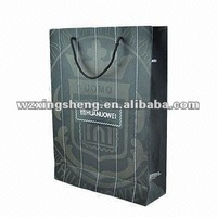 wholesale high quality promotion paper gift shopping bag promotion pallet cover paper bag