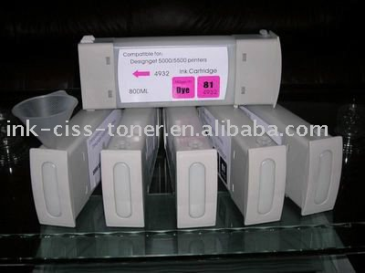 Wide format ink cartridge for Roland Roland XJ-640/VJ-540