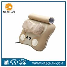 Massage equipment best selling personal massager shiatsu massage pillow with hot stone
