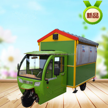 China new design Mobile Food Cart , Hot Fast Food Cart for sale , Electrical Food Cart