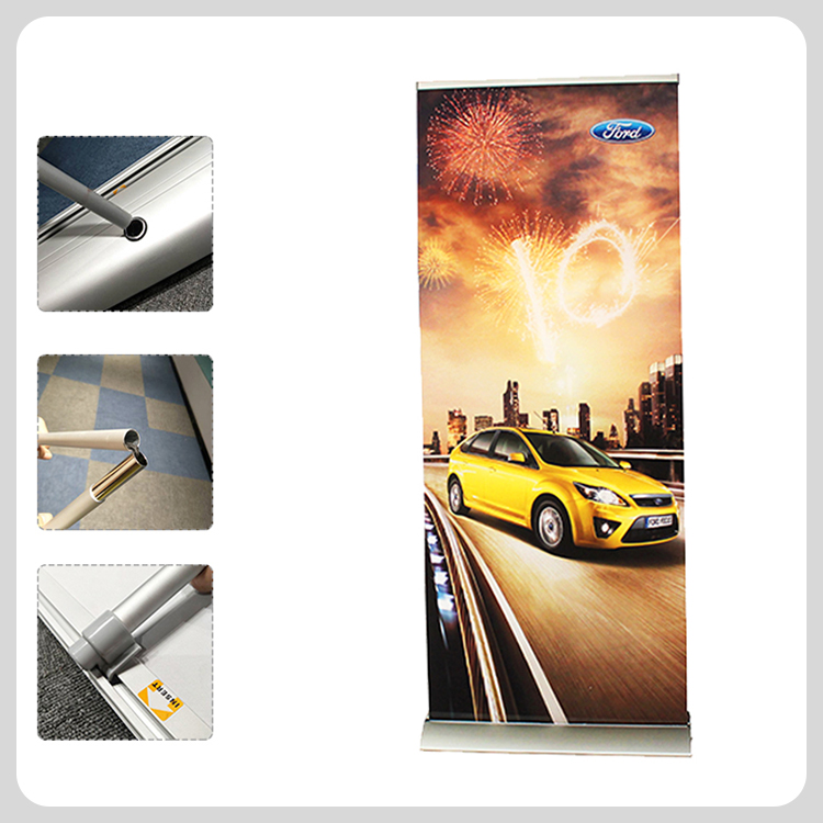 85x200cm Portable high quality exhibition roll up banner stand favoshow display