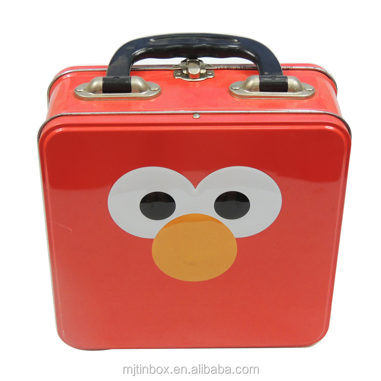 China supplier children lunch tin box/ small metal tin boxes/ custom lunch box