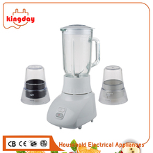 2017 R&D low cost high quality convenient operating dandy 450W 3 in 1 multi baby food blender glass national juicer mixer