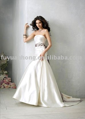 2010 new style wedding gown /FYH-WD00341