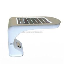 Solar Powered Outdoor Decoration Modern Wall Lamp For Hotel