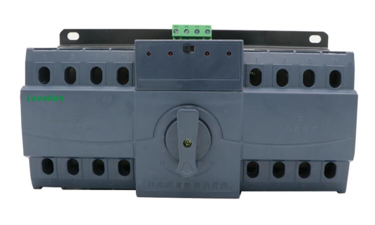 63A CB Class ATS Intelligence Dual power Transfer Switch for Automatic Generator