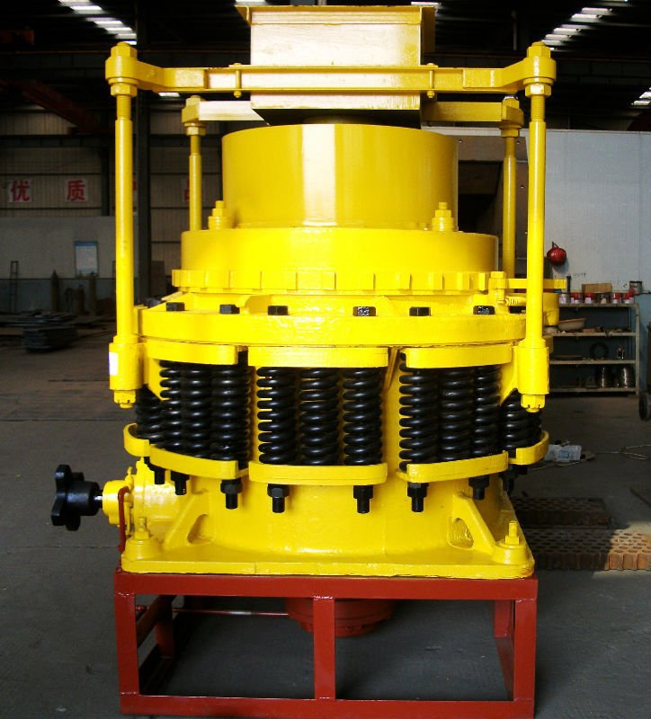 PYD/Z/B series Spring hydraulic cone crusher, cone crusher for road construction /stone crushing plant/mining plant/gold, copper