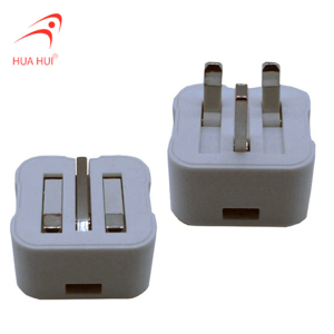 Easily Carrying Folding Adapter UK Wall Socket with USB Charger