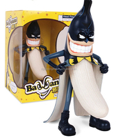 Hot Sale batman bad banana pvc delicate figure