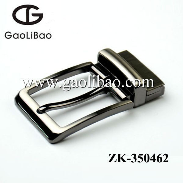 2015 fashion designed 35mm pin buckles with clip zinc alloy buckles for men belt ZK-350462