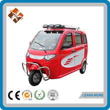 cheap 3 wheel full cabin electric tricycle used pedicabs for sale