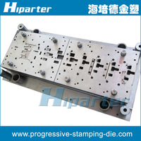 Chinese progressive stamping mould and progressive punch die