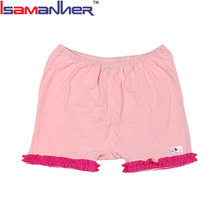 Customized infant softtextile baby icing ruffle pants baby girl shorts