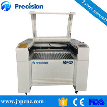 Small simple operation mini paper laser cutting machine price 9060