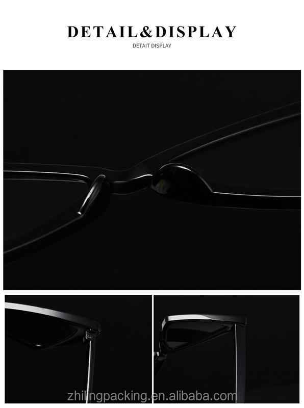 ZHILING 여성 태양 안경 복고풍 선글라스 도매