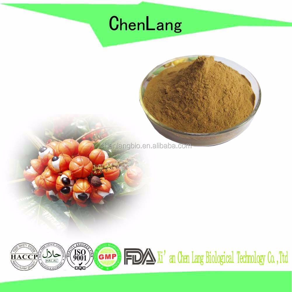 China Supplier Provide Pure Natural Powder Caffeine from Guarana Extract 10%