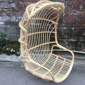 Wholesale Patio Hanging Chair Garden Rattan Swing Chair Furniture