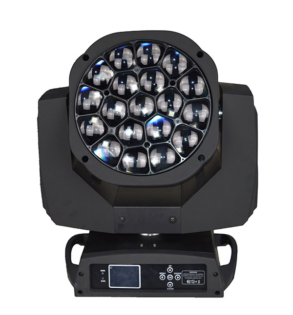 Guangzhou 19X15W Big Bee Eye Stage Light led beam wash zoom moving head light