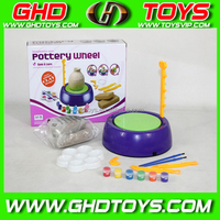 Children Kids Pottery Workshop Wheel with Argil Toys