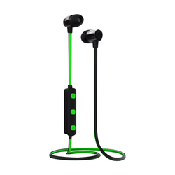 Stereo sports earphones wireless bluetooth headset with mic