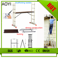 AY cheap wholesale merchandise stair machines extension ladder platform