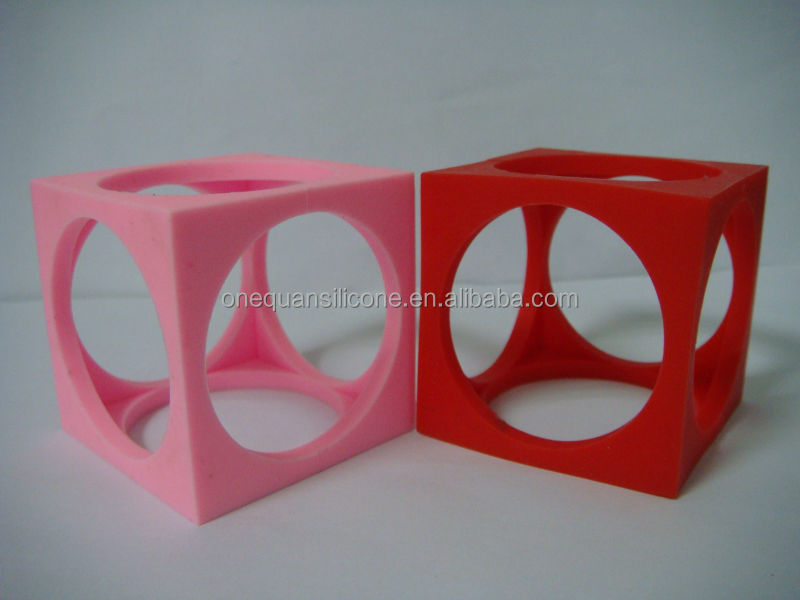 newest and hottest cheap three-dimensional silicone 3D rubber band