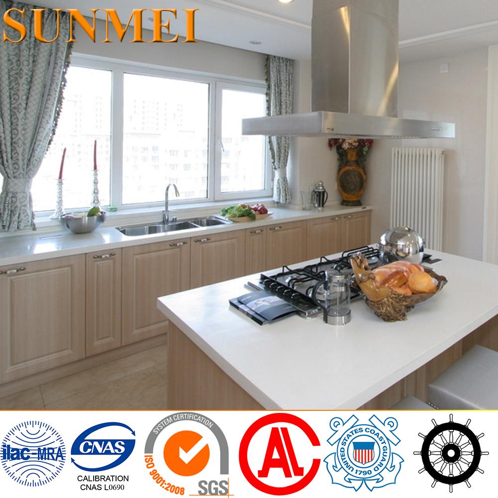Custom-oriented di fascia alta in acciaio inox 304 mobili da cucina ...