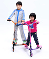 2017 high quality kick scooter 100% steel child scooter 3 wheel kick scooter